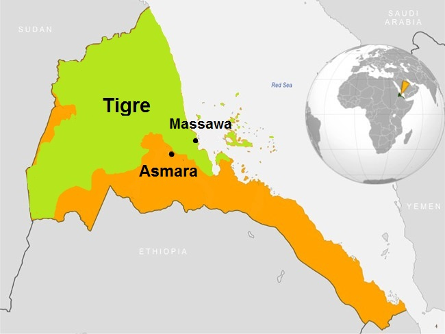 Eritrea Tigre people
